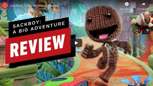 gameplay sackboy