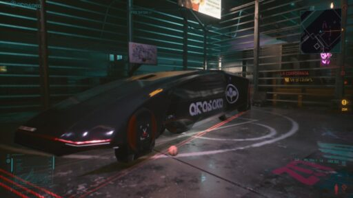 Cyberpunk 2077 coche bugueado