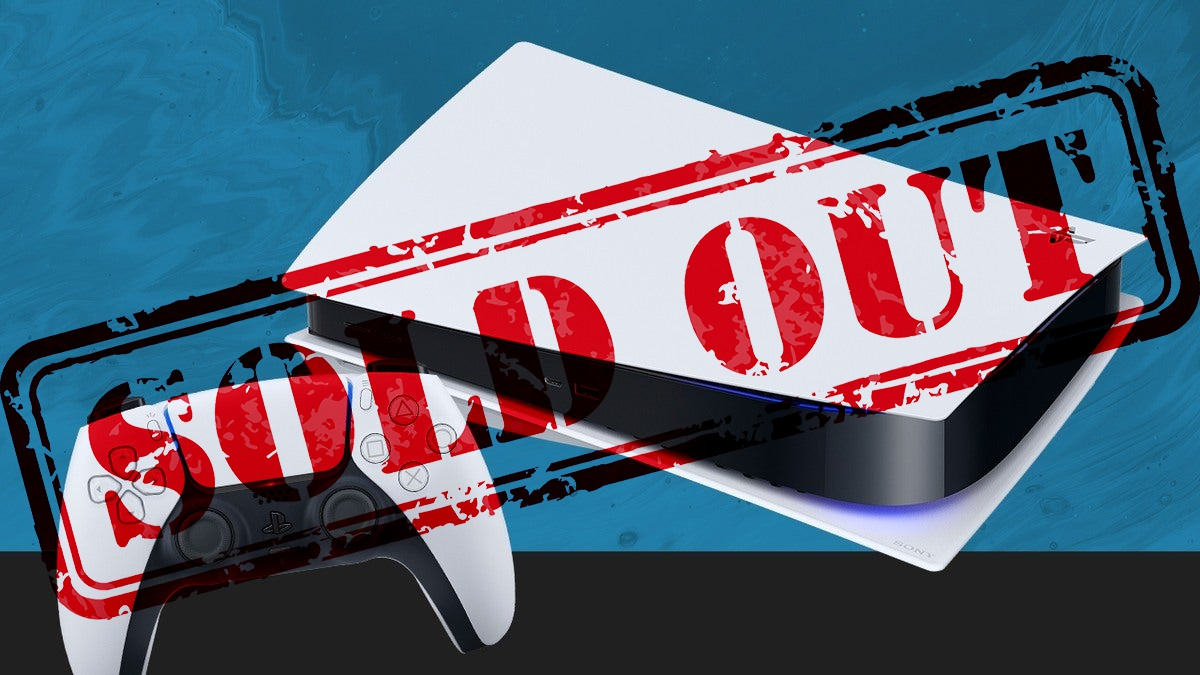 PS5 STOCK SOLD OUT