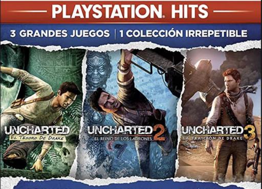 OFERTAS JUEGOS PRIMAVERA Uncharted Collection pS4