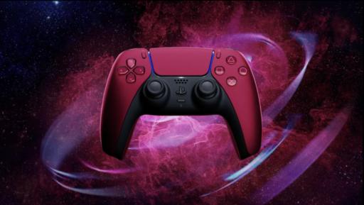 Mando Dualsense Cosmic Red