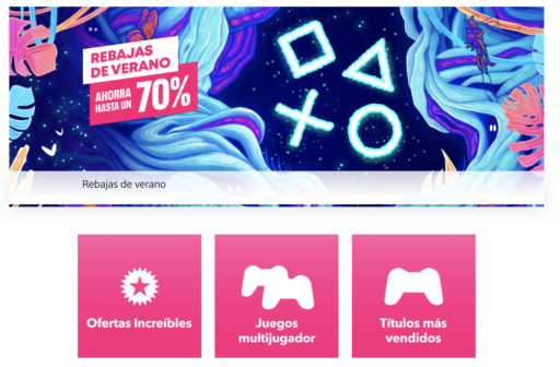 Rebajas verano PS Store