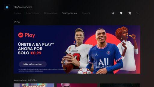 EA PLAY DESDE PS5